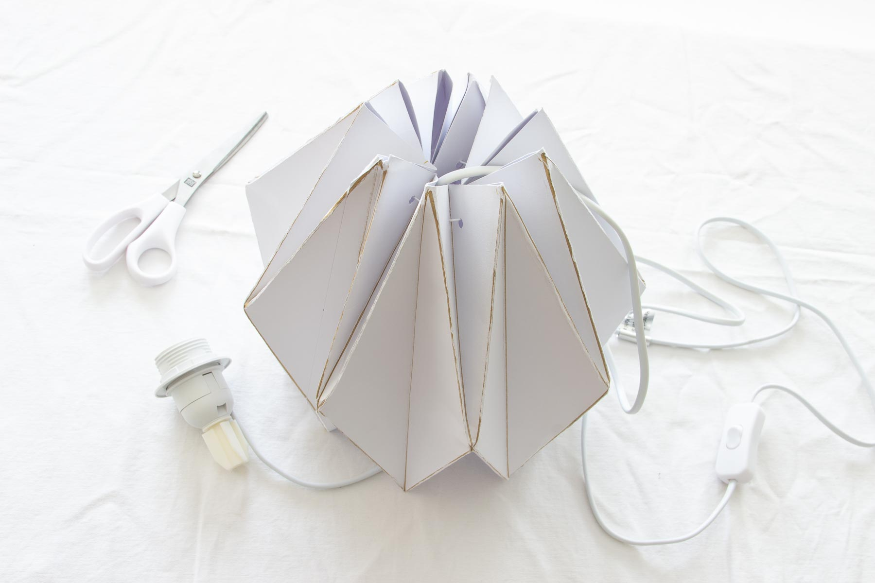 Lampara de Papel Origami (Talleres)