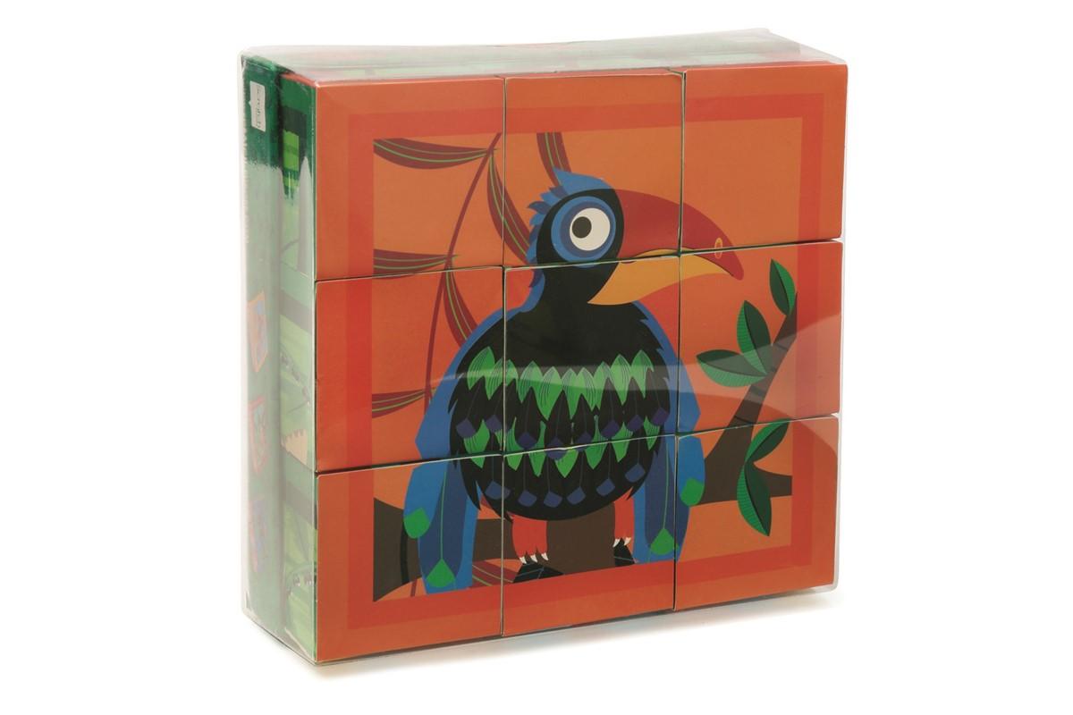 Rompecabezas Pájaros - Scratch (Juguetes)